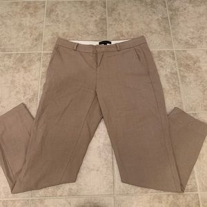 Banana republic tan flannel pant